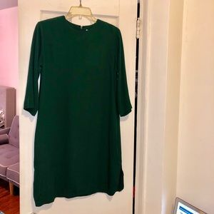 &other stories Flattering Green Dress With Pockets